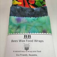 Bees Wax FoodWraps 3 Piece Pack